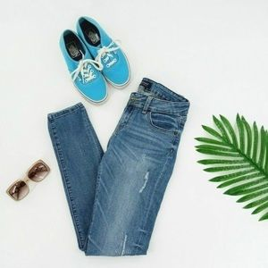 Just USA Denim Ripped Jeans Size 5 Skinny Fit